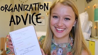 College Organization Tips! (How to Stay Organized in School)