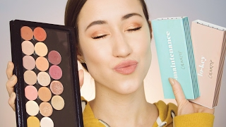 COLOURPOP PRESSED POWDER SHADOWS | SWATCHES, TUTORIAL + REVIEW | ALLIE G BEAUTY