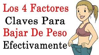 Como Adelgazar Rápidamente | 4 Factores Claves A Seguir Para Bajar De Peso(, 2014-09-05T16:50:04.000Z)
