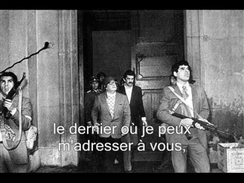 Download Dernier discours de Salvador Allende