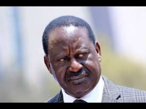 Raila jets back to the country from his Tanzania trip ahead of Uhuru's swearing in