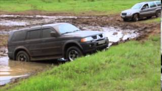 Jeep Grand Cherokee and Mitsubishi Pajero Sport, Алешино, Сыктывкар