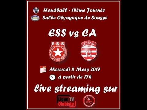 Handball 18ème journée // ESS - CA