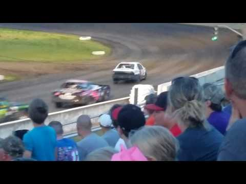 Tad Peterson @ Fiesta City Speedway- Final Laps of Feature 7.21.17