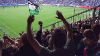 Arminia Bielefeld - Hannover 96 | Schlachtenbummler aus Hannover 18.09.16 (HD)