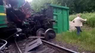 Аварія поїзду Київ - Кам'янець-Подільський
