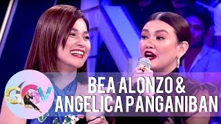 Angelica will burn Bea39s house if she comes back to her ex  GGV