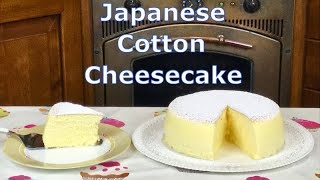 Japanese Cotton Cheesecake - sofficissimo