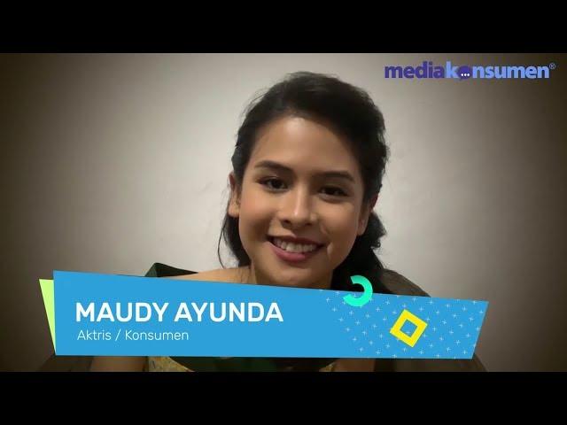 Maudy Ayunda tentang MediaKonsumen.com