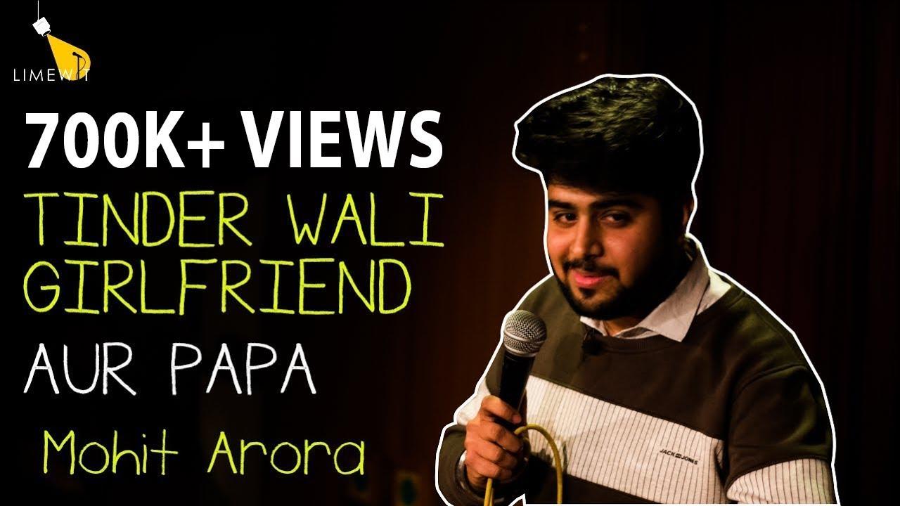 GAANJA, TINDER WAALI GIRLFRIEND AUR PAPA – Standup Comedy by Mohit Arora – LIMEWIT Live