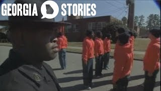 Boot Camp Justice for Juvenile Offenders   Georgia Stories