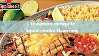 Applebee's Tequila Lime Chicken Secret Recipe - Uncovered!