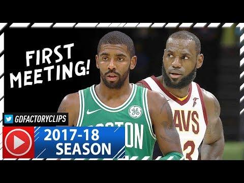 LeBron James vs Kyrie Irving EPIC Duel Highlights (2017.10.17) Cavs vs Celtics - FACE TO FACE!