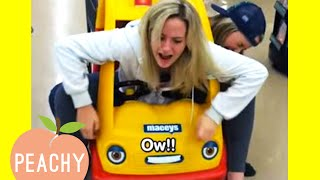 She Got Stuck in the Shopping Cart 🤣 | Adults Acting Like Kids Fails