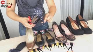 Aprenda como cortar o salto da capa fashion