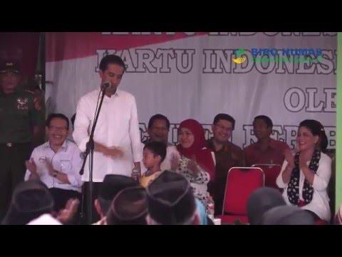 Keberanian Anak Jawa Timur saat Menjawab Pertanyaan dari Presiden RI