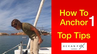 #anchoring #boatanchors How To Anchor. LEARN the Tips & Tricks 1. Sailing Ocean Fox