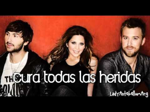 If I Knew Then - Lady Antebellum - Español