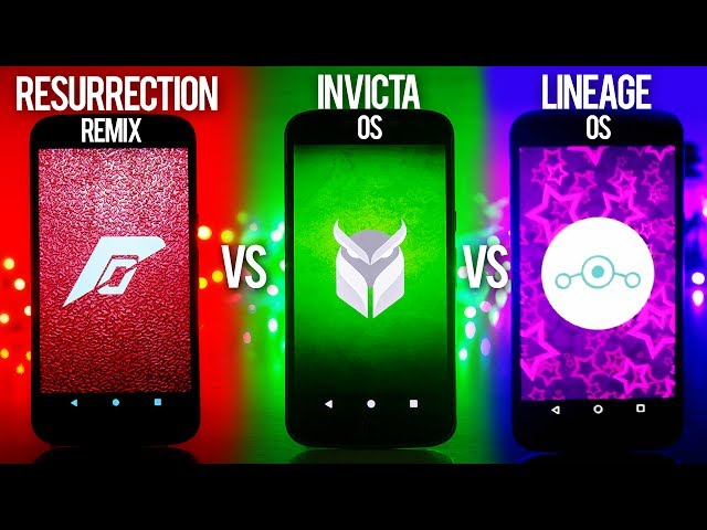 Whats The BEST Custom Rom in 2017 for Moto G4 Plus ? Lineage Os Vs Resurrection Remix vs Invicta Os