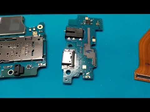 Samsung A20 после воды не запускается.Разборка и ремонт.