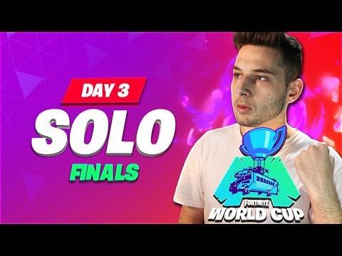 ΤΕΛΙΚΟΣ FORTNITE WORLD CUP - ΜΕΡΑ 3 SOLOS (Επίσημο Ελληνικό Show)