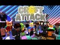 Craft Attack 6 Startet! Komplette Eskalation! - Minecraft Craft Attack 6 #01 - SparkofPhoenix