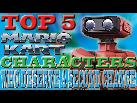 Top 5 Mario Kart Characters Who Deserve a Second Chance