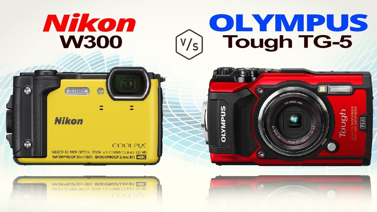 Nikon Coolpix W300 Vs Olympus Tough Tg 5 Youtube Black Kamera Underwater Cameracomparison Digitalreview Nikoncoolpixw300
