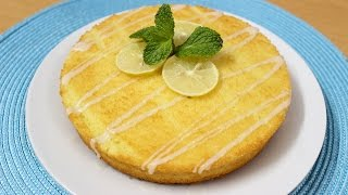 Lemon Cake Recipe - How To Make Lemon Cake - Homemade Lemon Cake Recipe