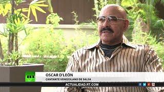 Entrevista con Oscar D'León, cantante venezolano de salsa