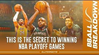 The SECRET To Winning NBA Playoff Games