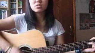 playing 5 colours in her hair (McFly) guitar acoustic