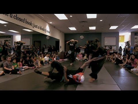 Black belt test at the Las Vegas Kung fu Academy