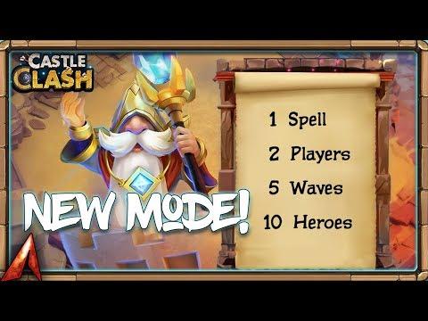 NEW GAME MODE Sneak Peek! Castle Clash