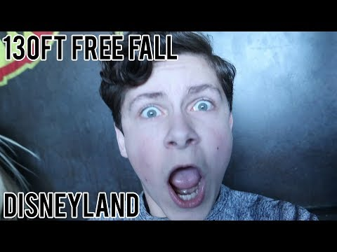 100ft FREE FALL!! Guardians of the Galaxy + More Rides | Disneyland Feb 13 Part 1