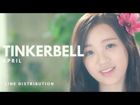 에이프릴 APRIL - TINKERBELL 팅커벨 || Line Distribution