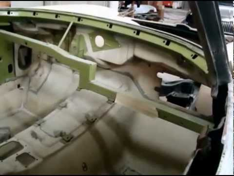 1963 Corvette Coupe Quot Body Off Quot Underbody Bird Cage