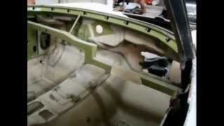 "1963 Corvette Coupe "" body off "" / Underbody,Bird Cage, Partial Assembly"