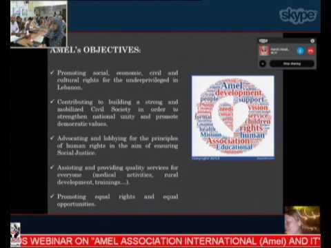 Webinar on Amel Association International