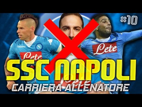 FIFA 16: CARRIERA ALLENATORE NAPOLI #10 | ADDIO HIGUAIN!! [By Giuse360]