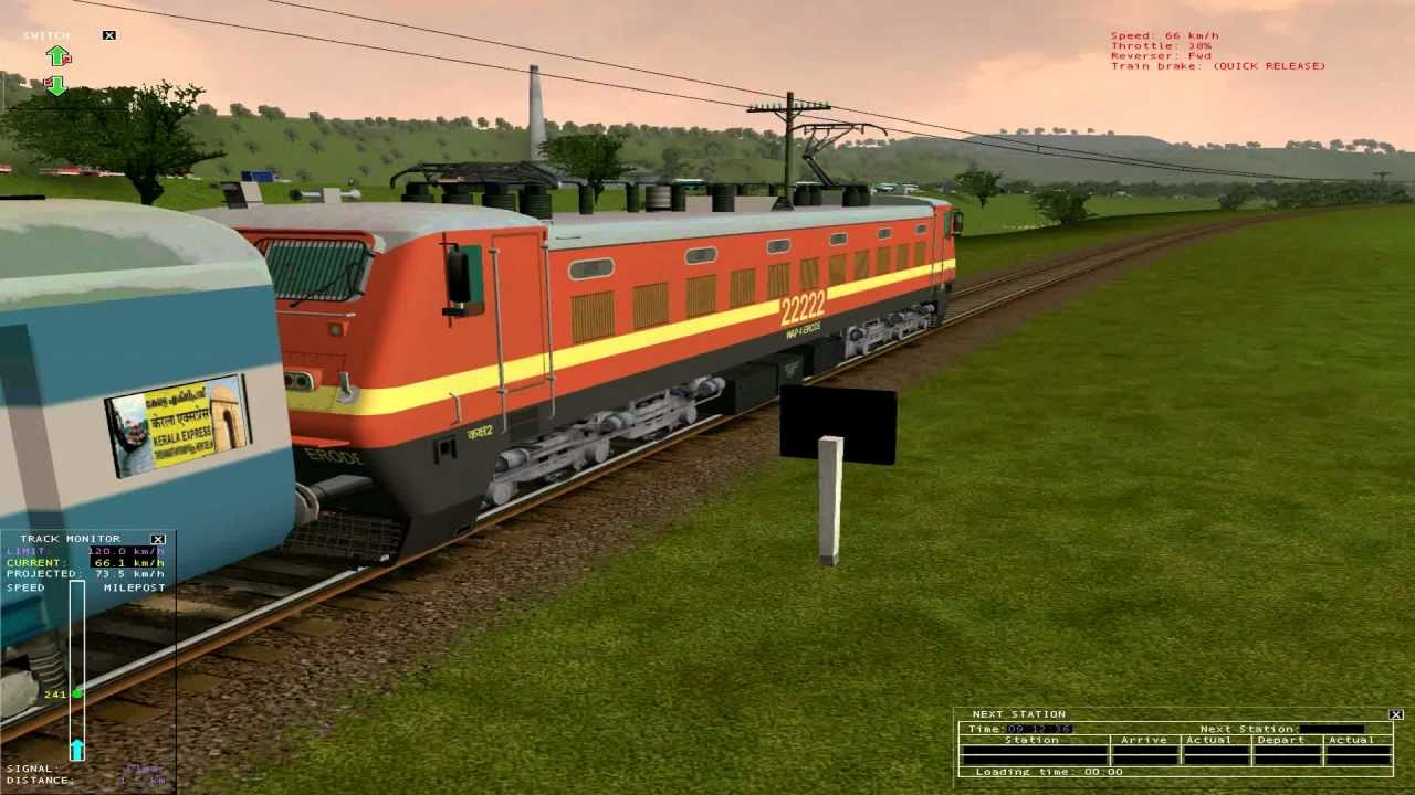 Indian Train Simulator For PC (Game Free Download