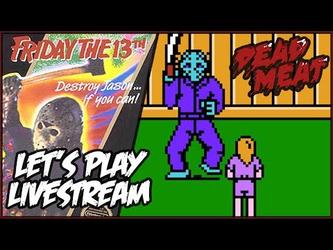 Friday the 13th NES VIDEO GAME Let's Play LIVESTREAM