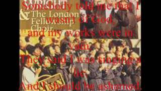 Judge Me Not by Rev. Timothy Wright and the London Fellowship Mass Choir