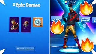 HOW I GOT THE *NEW* RED STRIKE STARTER PACK EARLY IN FORTNITE SEASON 10!