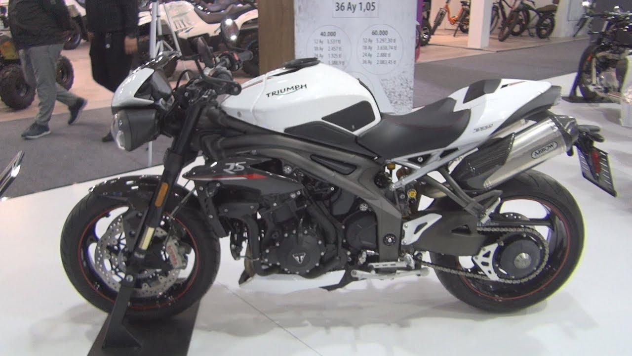 Triumph Speed Triple Rs 2020 Exterior And Interior Youtube