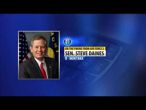 """Daines: """"We are a northern border state with a southern border problem"""""""