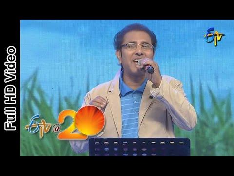 Vandemataram Srinivas Performance - O Ramulamma Song in Vijayanagaram ETV @ 20 Celebrations