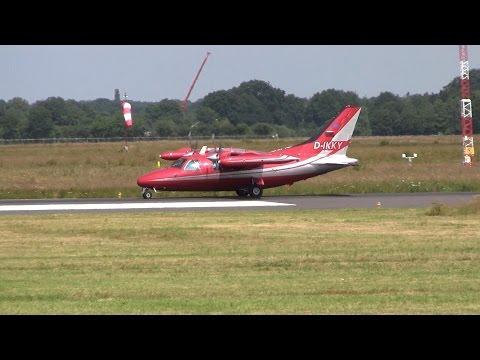 Mitsubishi MU-2 Solitaire ► Landing ✈ Groningen Airport Eelde