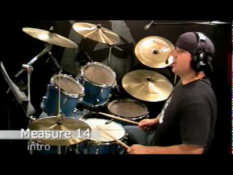 Drum Lesson - Everlong by Foo Fighters - Nate Brown - YouTube
