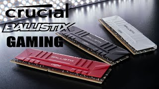 [Cowcot TV] Présentation mémoire RAM DDR4 CRUCIAL Ballistix Gaming